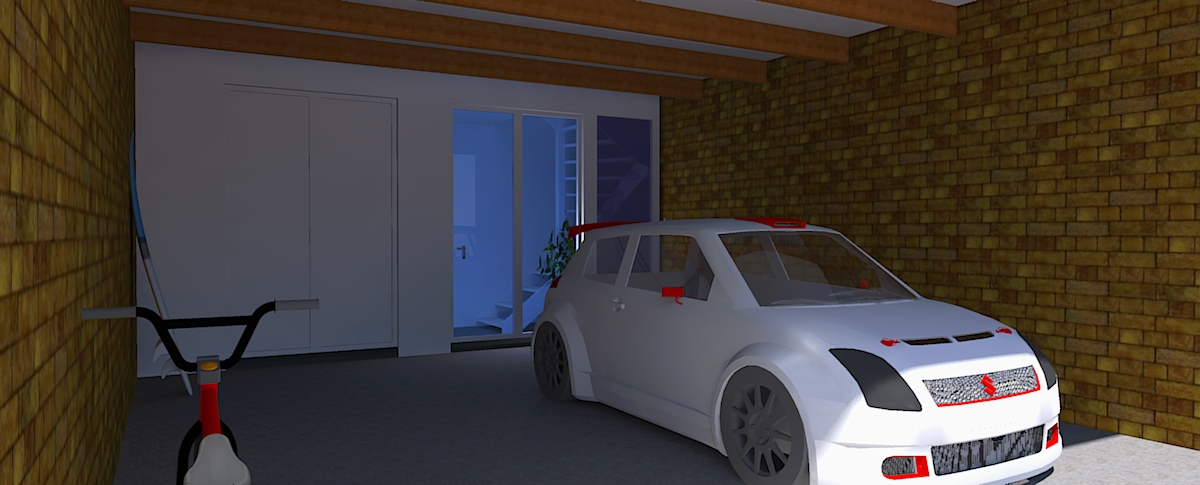 Moderne drive-inwoning in klassiek grachtenpand